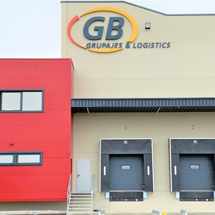 ALCALANS FINISHES UP THE NEW LOGISTICS FACILITIES OF GB GRUPAJES AND LOGISTICS IN ALICANTE
