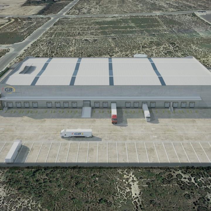 New logistics platform in Alicante for GB Grupajes